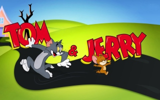 Tom And Jerry Cartoon - Obrázkek zdarma pro Fullscreen Desktop 1400x1050