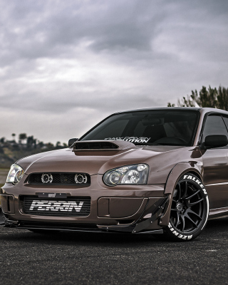 Subaru Impreza WRX STi Wallpaper for Nokia 5800 XpressMusic