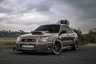 Subaru Impreza WRX STi Background for Samsung Galaxy S6 Active