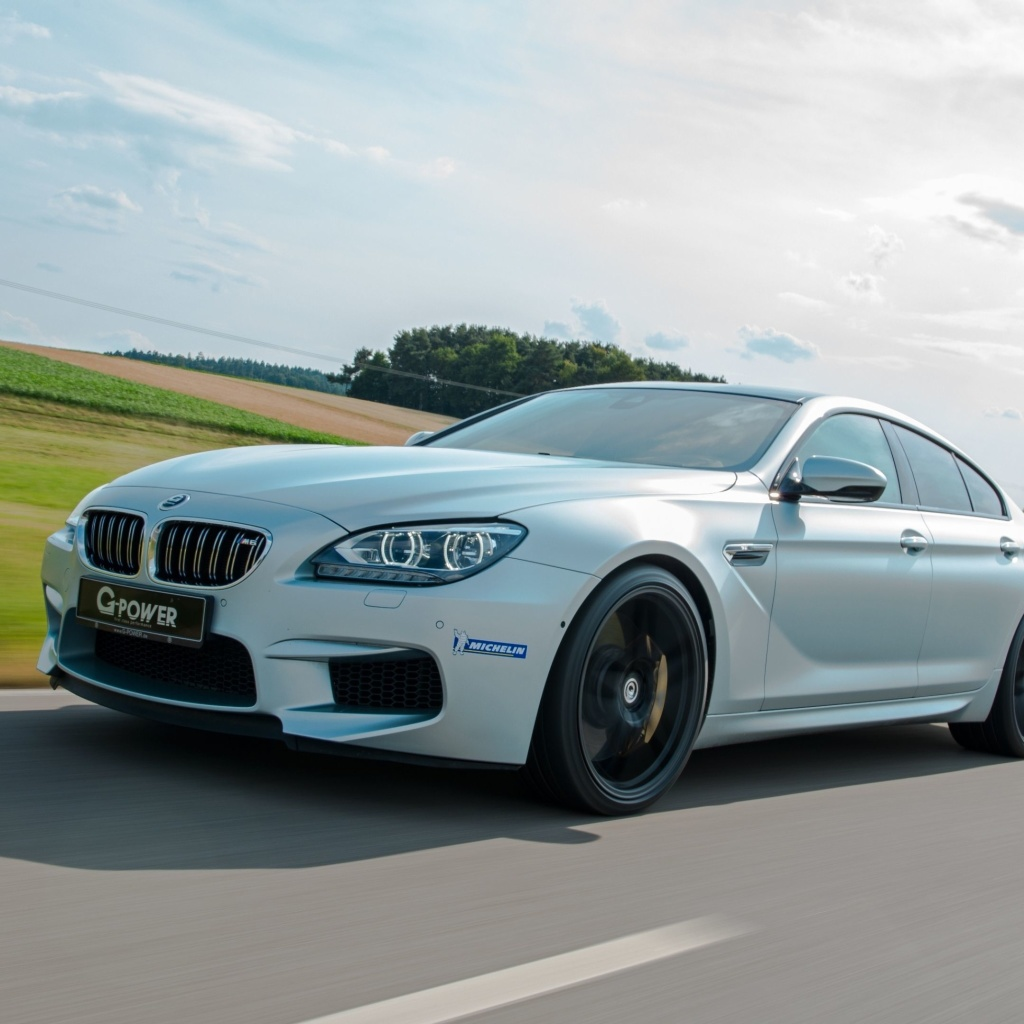 Das BMW M6 Wallpaper 1024x1024
