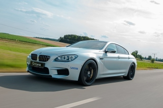 BMW M6 Background for Android, iPhone and iPad