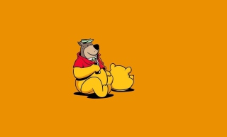 I Am Winnie The Pooh - Obrázkek zdarma pro Widescreen Desktop PC 1920x1080 Full HD