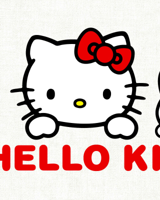 Hello Kitty Background for Nokia X1-01