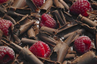 Chocolate Raspberry Picture for Android, iPhone and iPad