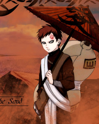 Gaara, Naruto Manga Picture for LG GD510 Pop