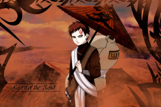 Gaara, Naruto Manga Background for Android, iPhone and iPad