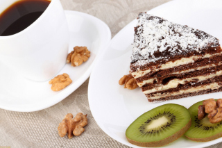 Coffee, Cake and Kiwi sfondi gratuiti per cellulari Android, iPhone, iPad e desktop