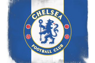 Chelsea Grunge Logo Background for Android, iPhone and iPad
