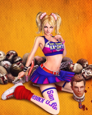Lollipop Chainsaw Juliet Starling sfondi gratuiti per Nokia Lumia 925