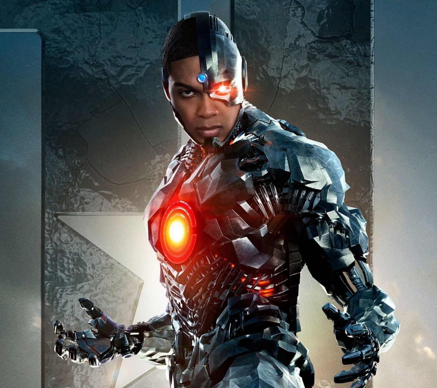 Screenshot №1 pro téma Cyborg Justice League 1440x1280