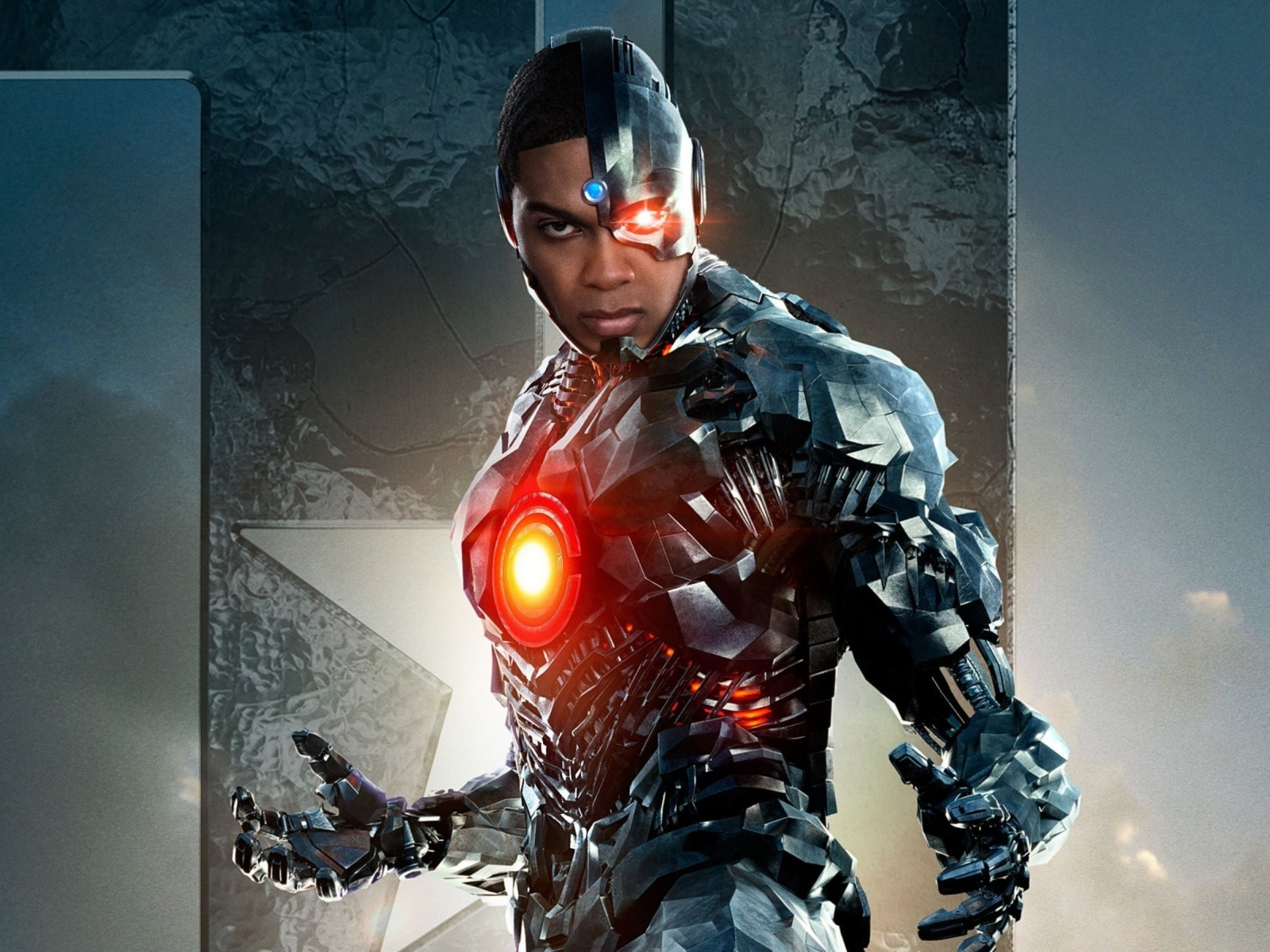Обои Cyborg Justice League 1600x1200
