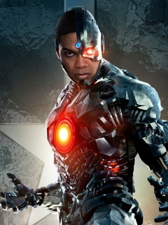 Screenshot №1 pro téma Cyborg Justice League 240x320