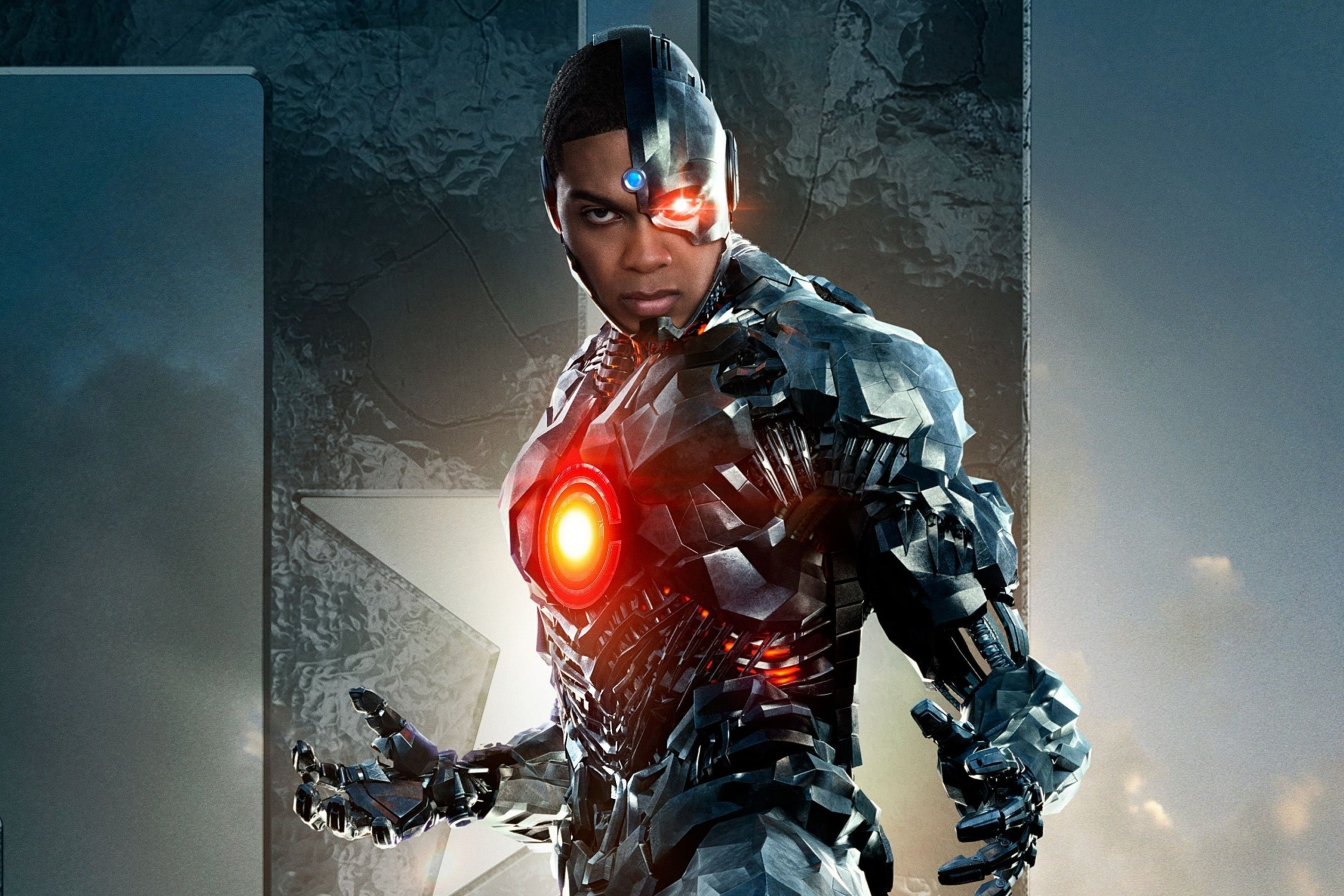 Screenshot №1 pro téma Cyborg Justice League 2880x1920
