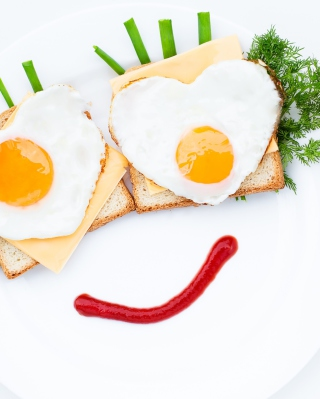 Creative Breakfast For Loved One sfondi gratuiti per Nokia Lumia 925