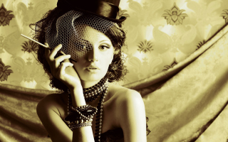 Retro Portrait Wallpaper for Android, iPhone and iPad