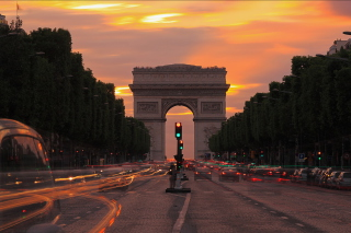 Arc De Triomphe Background for Android, iPhone and iPad