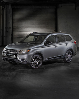 Kostenloses Mitsubishi Outlander 2018 Wallpaper für iPhone 6 Plus