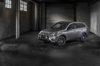 Mitsubishi Outlander 2018 sfondi gratuiti per cellulari Android, iPhone, iPad e desktop