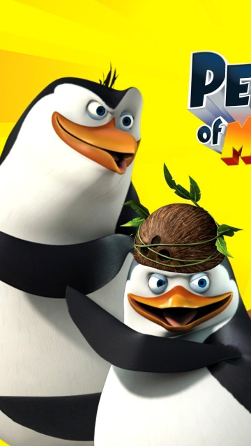 Das The Penguins of Madagascar Wallpaper 360x640