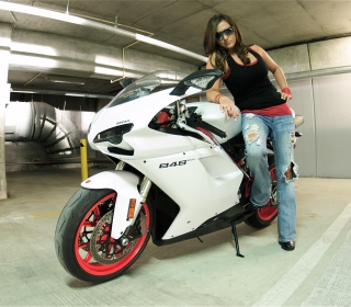Ducati Bike Model Background for 2048x2048