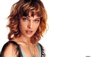 Milla Jovovich Picture for Android, iPhone and iPad