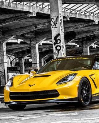 Free Chevrolet Corvette Stingray Picture for Nokia C6