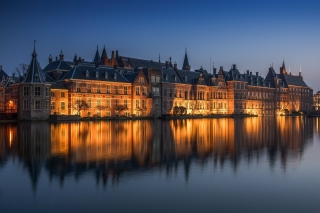 Binnenhof in Hague Background for Android, iPhone and iPad