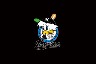 Chiba Lotte Marines Baseball Team Background for Android, iPhone and iPad