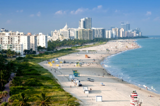 Miami Beach Wallpaper for Android, iPhone and iPad
