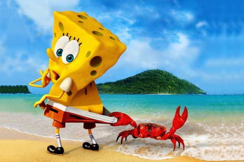 Spongebob And Crab para Sony Ericsson XPERIA X10 mini pro