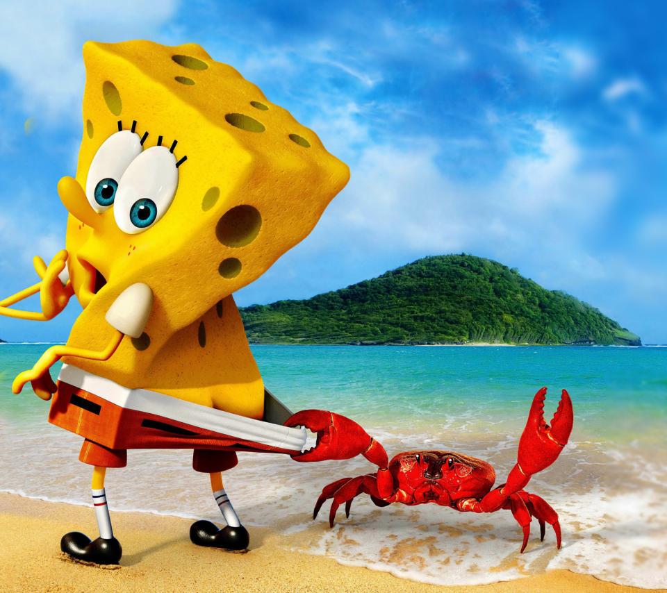 Spongebob And Crab para Sony Ericsson XPERIA Neo V