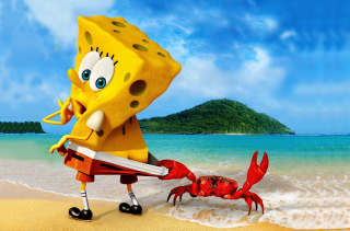 Spongebob And Crab sfondi gratuiti per cellulari Android, iPhone, iPad e desktop
