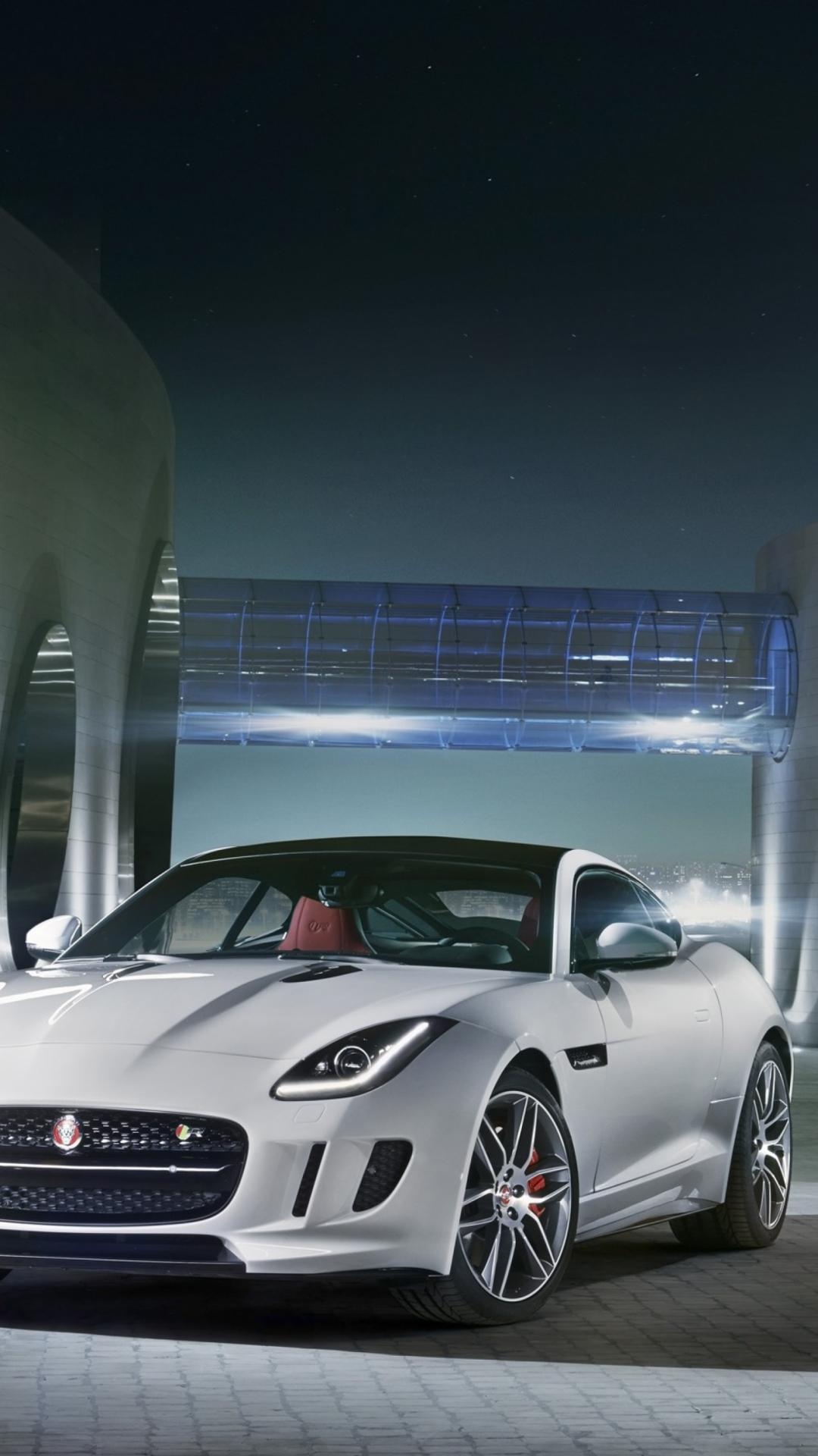 Jaguar F Type R Coupe 21 Wallpaper for iPhone 21 Plus