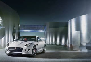 Jaguar F Type R Coupe 2014 sfondi gratuiti per cellulari Android, iPhone, iPad e desktop