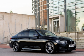 BMW M3 Matte Black Tinting Background for Android, iPhone and iPad