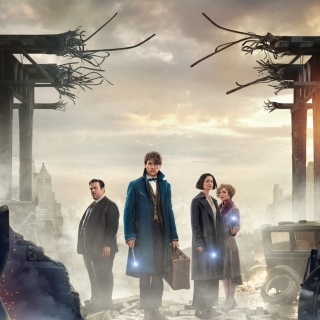 Kostenloses Fantastic Beasts and Where to Find Them Wallpaper für iPad 3