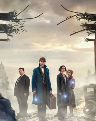 Kostenloses Fantastic Beasts and Where to Find Them Wallpaper für 640x960
