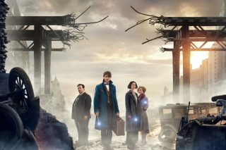 Fantastic Beasts and Where to Find Them - Obrázkek zdarma pro HTC Desire