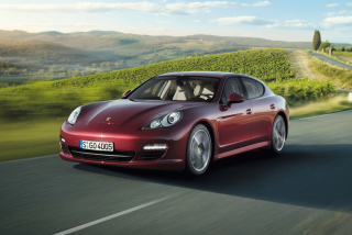 Free Porsche Panamera V6 Picture for Android, iPhone and iPad