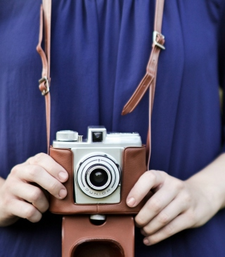 Old-Fashioned Photo Camera - Obrázkek zdarma pro iPhone 5C