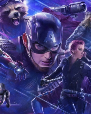 Avengers Endgame Picture for Nokia Asha 306