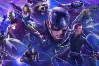 Free Avengers Endgame Picture for Sony Xperia Z1