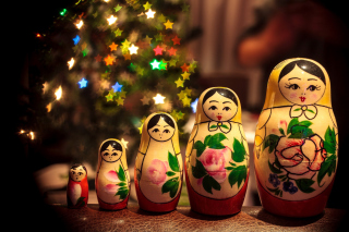 Matrioshka   Russian Doll Background for Android, iPhone and iPad