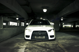 Mitsubishi Underground Background for Android, iPhone and iPad