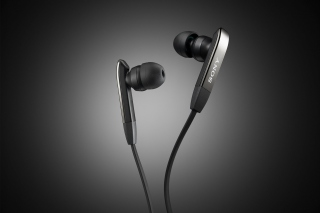 Sony Earphones Background for Android, iPhone and iPad
