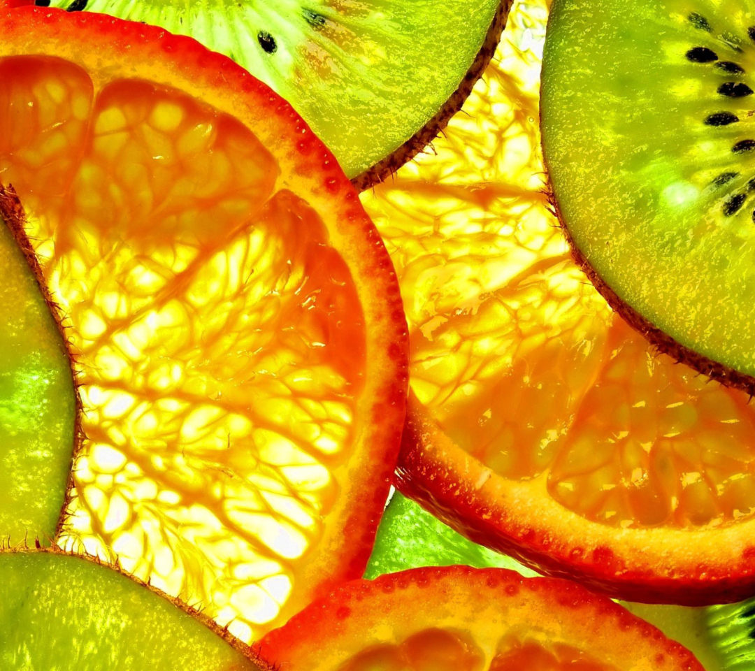 Screenshot №1 pro téma Fruit Slices 1080x960