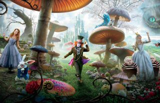Alice In Wonderland Movie - Fondos de pantalla gratis