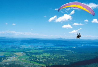 Paraglider Wallpaper for Android, iPhone and iPad