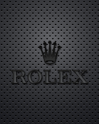 Rolex Dark Logo Wallpaper for Nokia C2-06
