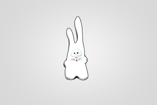Funny Bunny Sketch Wallpaper for Android, iPhone and iPad